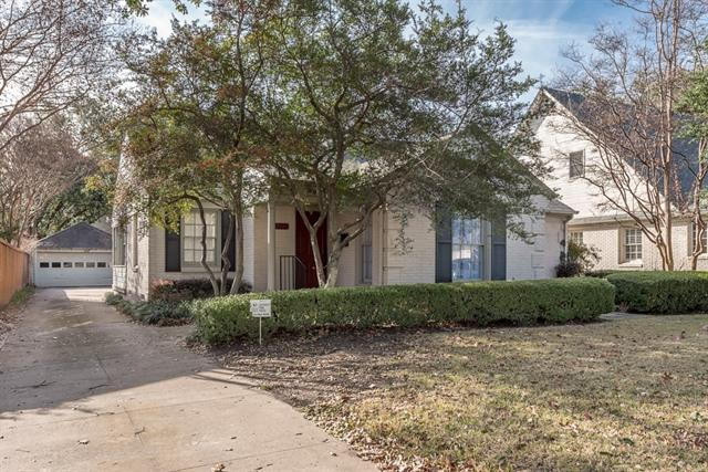 Photo of 4117 Greenbrier Drive  University Park  TX