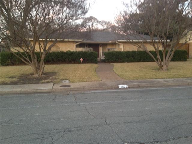 Photo of 11805 Meadowspring Lane  Dallas  TX