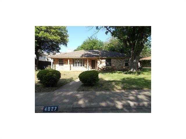 Photo of 4027 Oak Arbor Drive  Dallas  TX