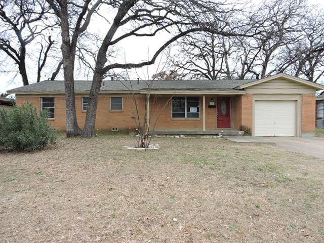 Photo of 3005 Edith Lane  Haltom City  TX