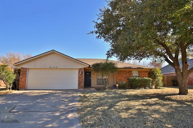 Photo of 3157 Beacon Hill Road  Abilene  TX