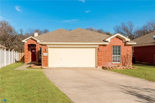 Photo of 2541 Big Spring Drive  Fort Worth  TX