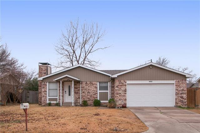 Photo of 402 Circleview Drive  Mansfield  TX
