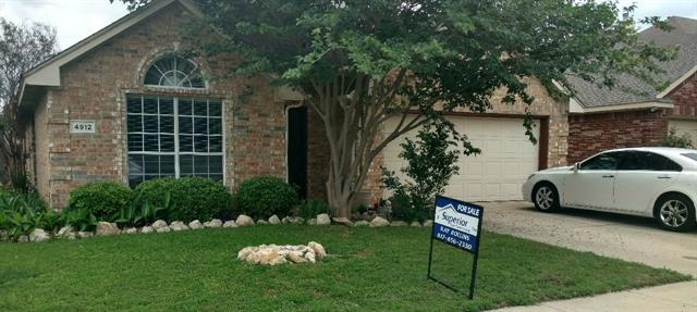 Photo of 4912 Marineway Drive  Fort Worth  TX