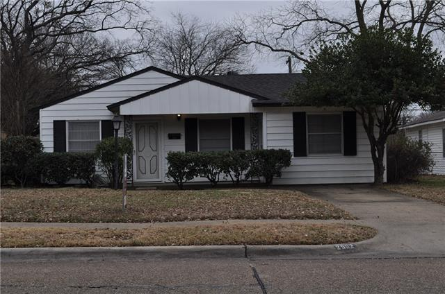 Photo of 2502 Millmar Drive  Dallas  TX