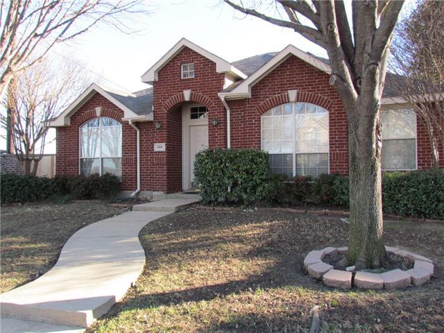 Photo of 1814 Roundrock Drive  Allen  TX