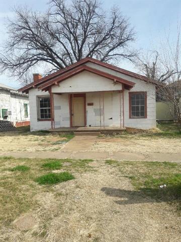 Photo of 1109 Bluff Street  Wichita Falls  TX