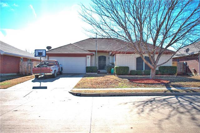 Photo of 1021 Caleb Street  Burleson  TX