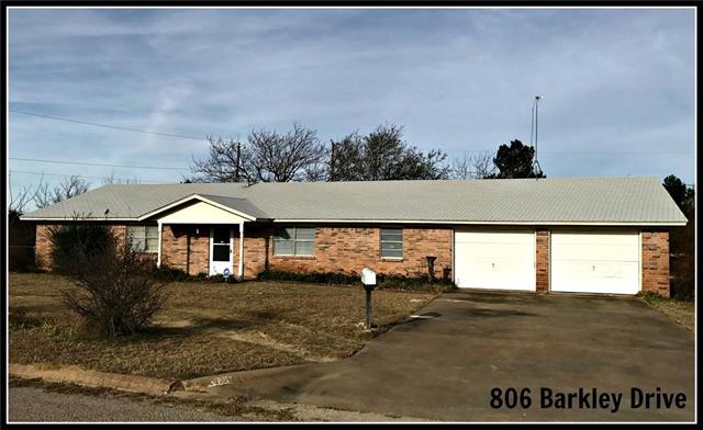 Photo of 806 Barkley Drive  Hamilton  TX