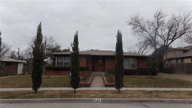 Photo of 1712 Westway Avenue  Garland  TX
