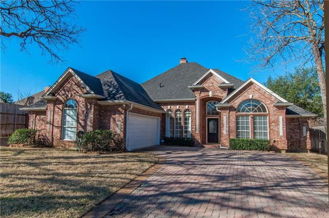 Single Story property for sale at 4504 Mill Pond Court, Colleyville Texas 76034