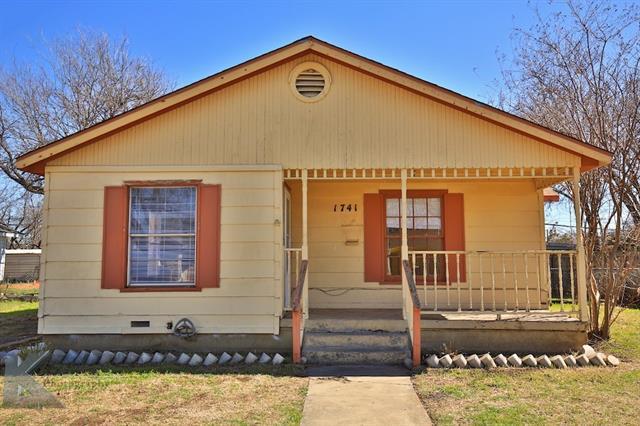 Photo of 1741 Mccracken Street  Abilene  TX