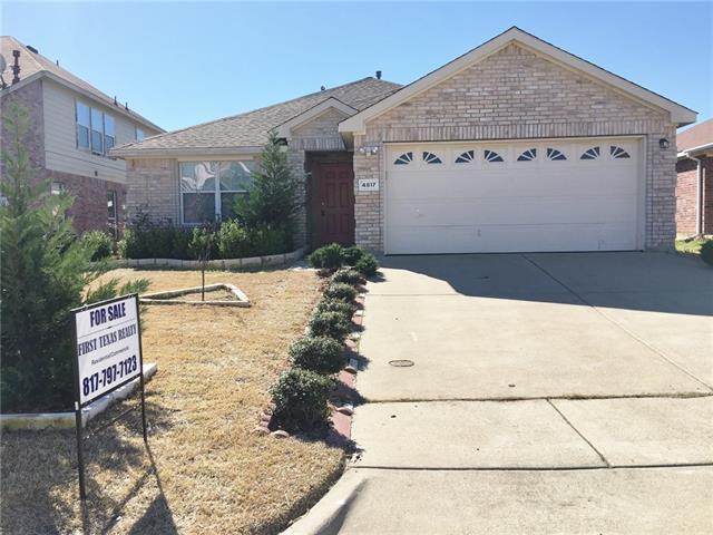 Photo of 4817 Madyson Ridge Drive  Fort Worth  TX