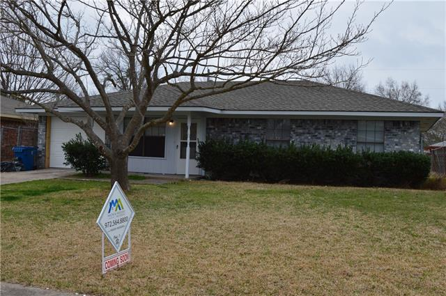 Photo of 818 Thedford Road  Seagoville  TX