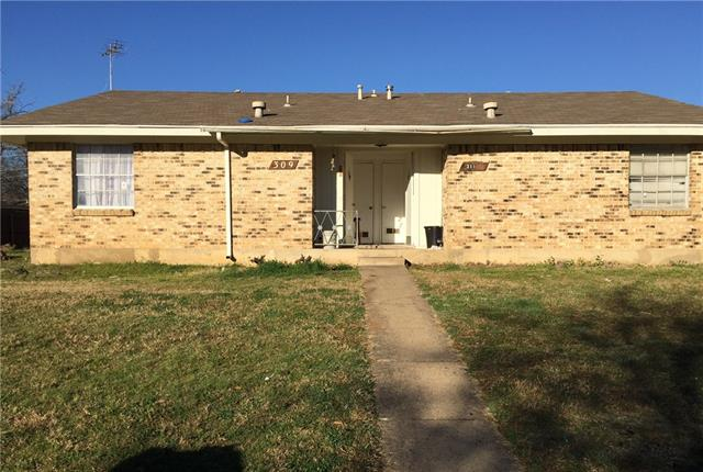 Photo of 309 Cliff Drive  Garland  TX