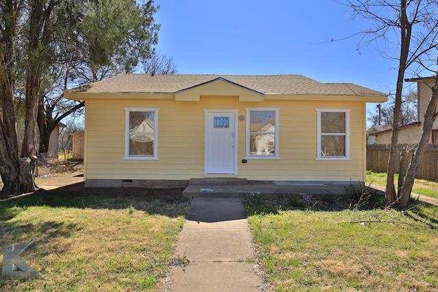 Photo of 1741 N 8th Street  Abilene  TX