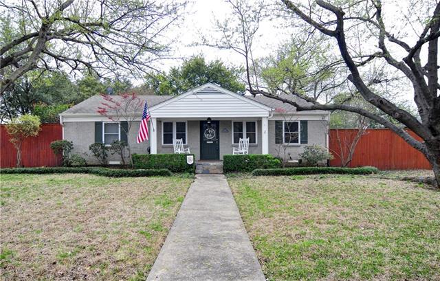 Photo of 3782 Van Ness Lane  Dallas  TX