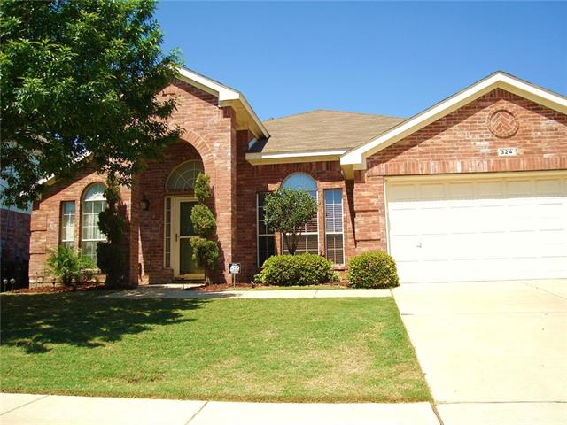 Photo of 324 Arbor Glen Drive  Fort Worth  TX