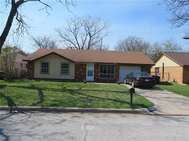 Photo of 3808 Lauretta Drive  Fort Worth  TX