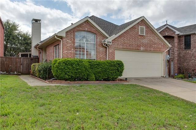 Photo of 934 Winterstone Drive  Lewisville  TX