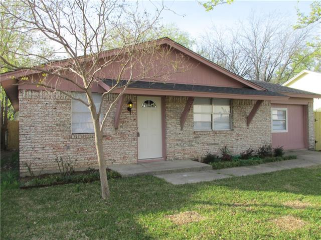 Photo of 8213 Wyatt Drive  White Settlement  TX