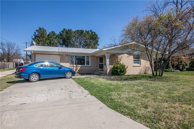Photo of 1725 Lincoln Drive  Abilene  TX