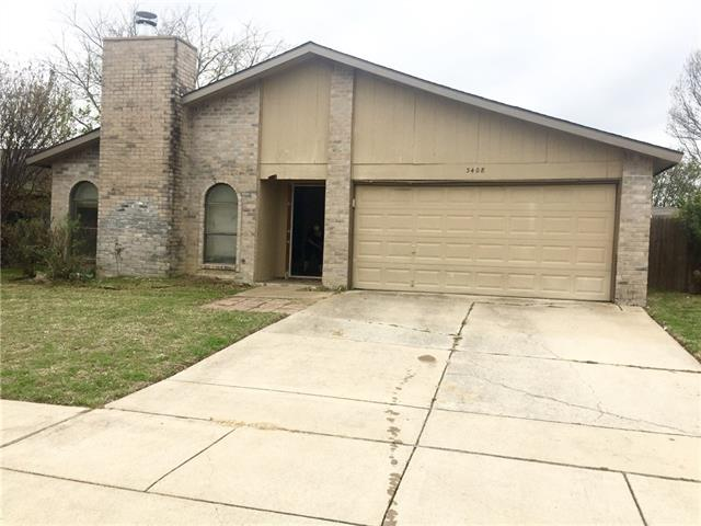 Photo of 3408 Green Hill Drive  Arlington  TX