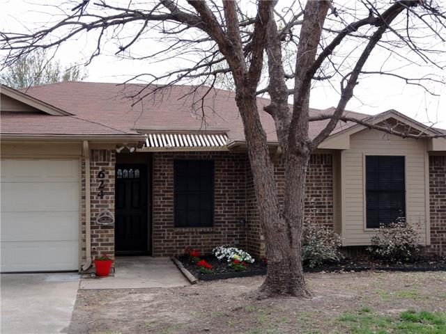 Photo of 624 Reed Street  Roanoke  TX