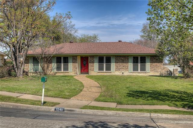 Photo of 1241 Gardengate Circle  Garland  TX