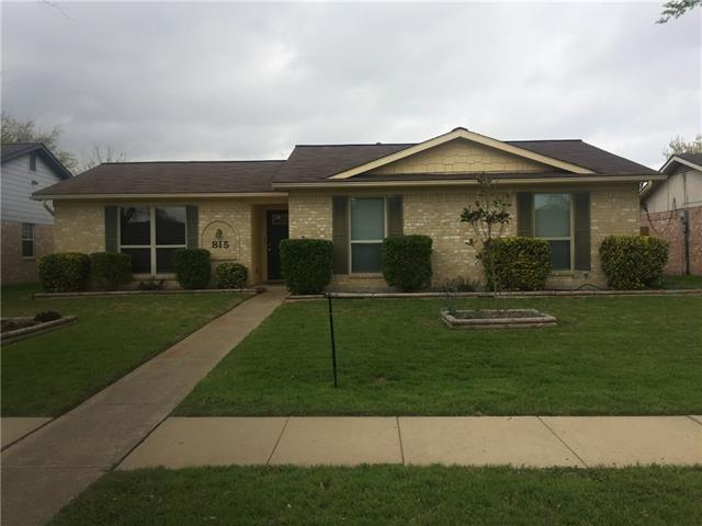 Photo of 815 Valley View Drive  Allen  TX