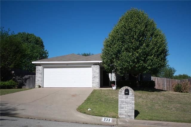 Photo of 233 Cardinal Court  Weatherford  TX