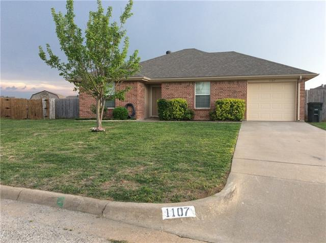 Photo of 1107 Lynnwood Court  Cleburne  TX