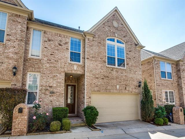 Townhome property for sale at 3933 Spring Garden Drive, Colleyville Texas 76034
