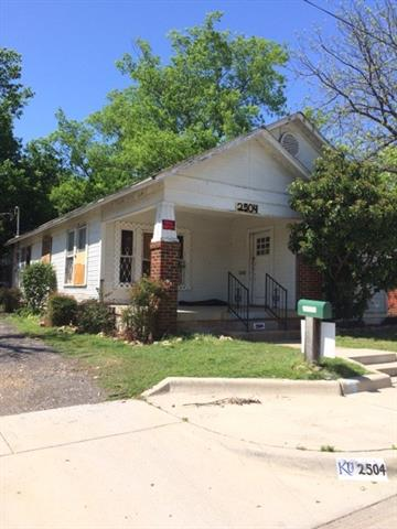 Photo of 2504 Lewis Avenue  Fort Worth  TX
