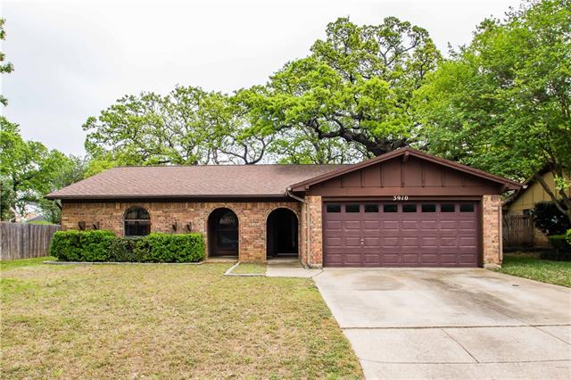 Photo of 3910 Firethorn Drive  Arlington  TX