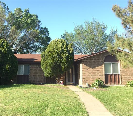 Photo of 2131 Travis Drive  Carrollton  TX