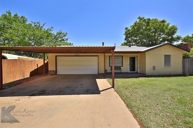 Photo of 3241 Wenwood Road  Abilene  TX
