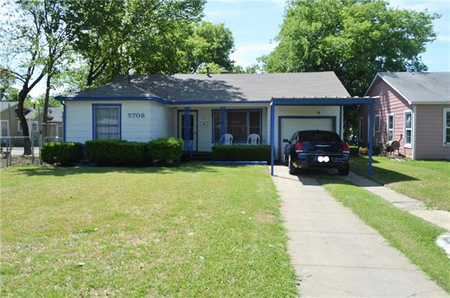 Photo of 5708 S Hampshire Boulevard  Fort Worth  TX
