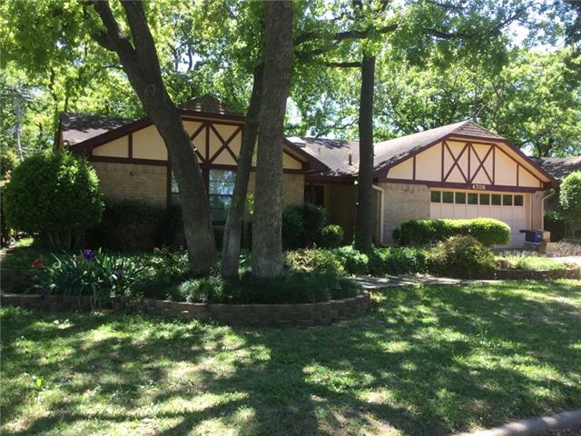 Photo of 4706 Lone Oak Drive  Arlington  TX