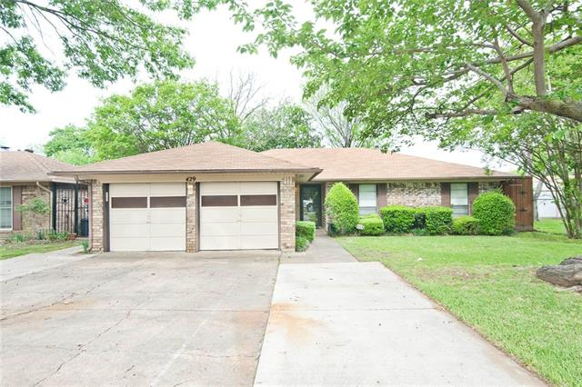 Photo of 429 Norma Drive  Irving  TX