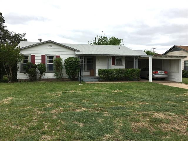Photo of 1310 Landon Street  Stamford  TX