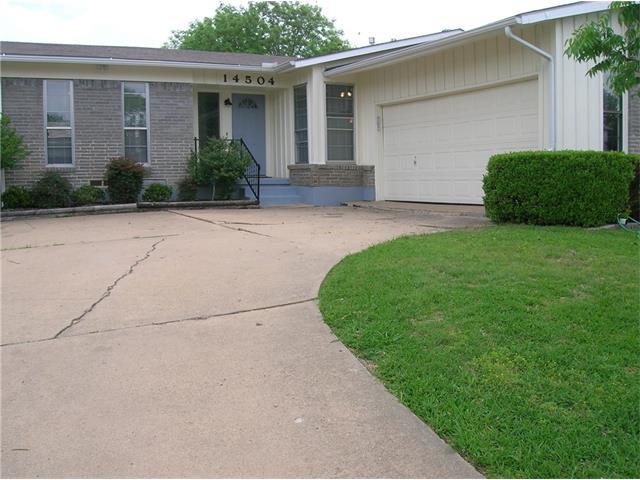 Photo of 14504 Dennis Lane  Farmers Branch  TX