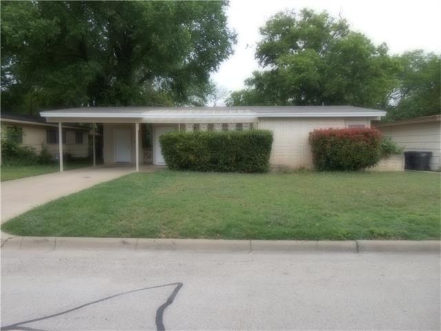 Photo of 2812 Cordone Street  Fort Worth  TX