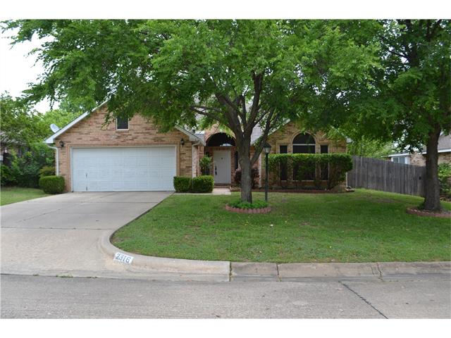 Photo of 2316 Brooklake Street W  Denton  TX