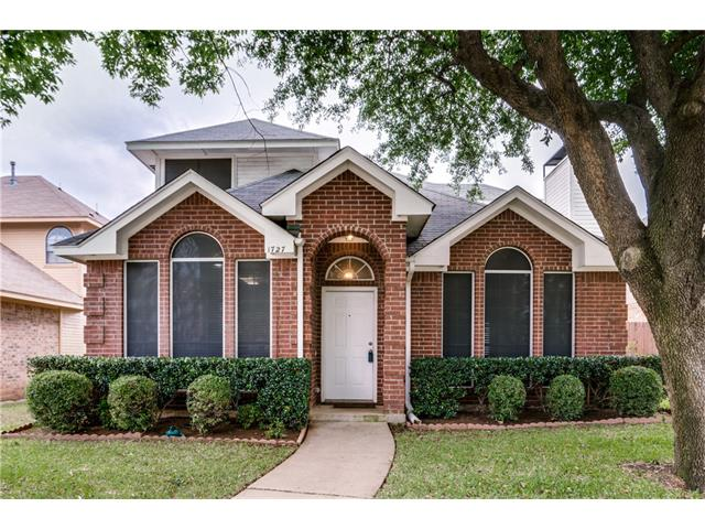 Photo of 1727 Shady Creek Drive  Lewisville  TX