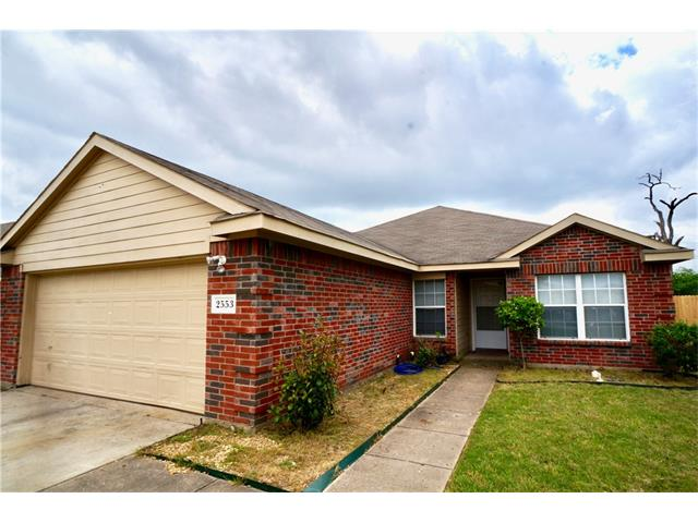 Photo of 2553 Spring Creek Drive  Balch Springs  TX