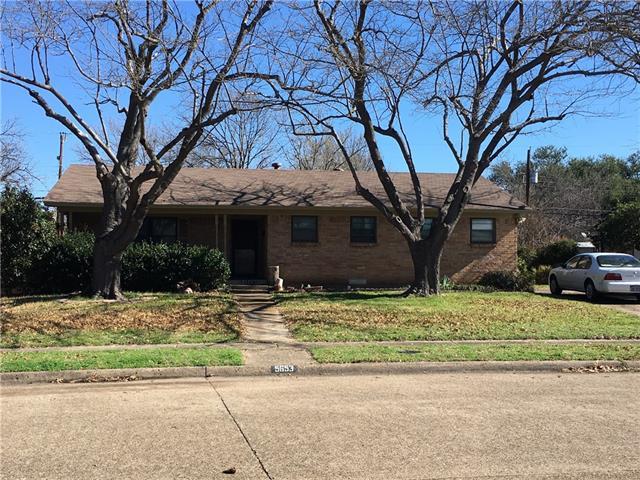 Photo of 5653 Meadowick Lane  Dallas  TX