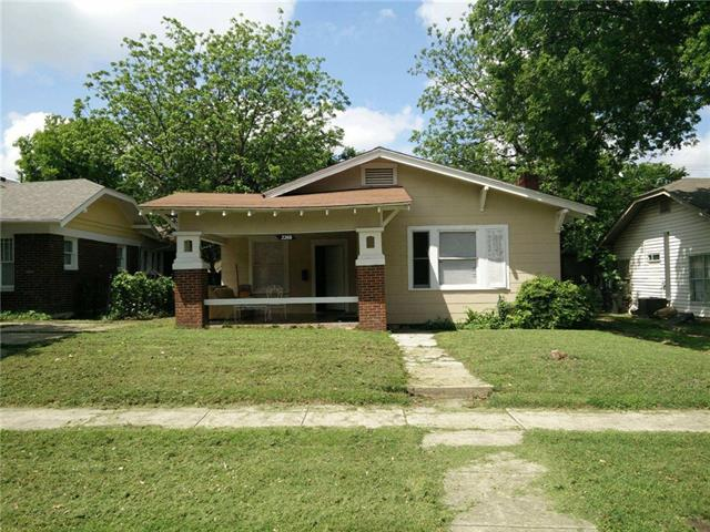 Photo of 2260 Hurley Avenue  Fort Worth  TX