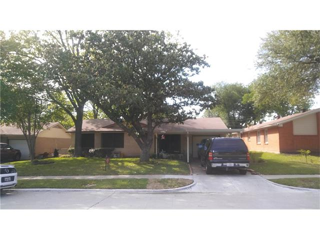 Photo of 3609 Demaret Drive  Mesquite  TX