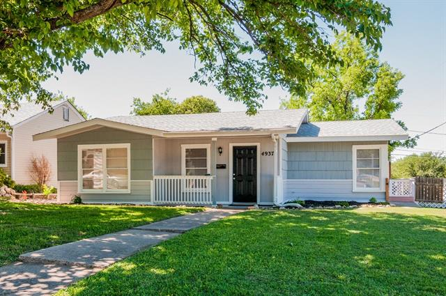Photo of 4937 Donnelly Avenue  Fort Worth  TX